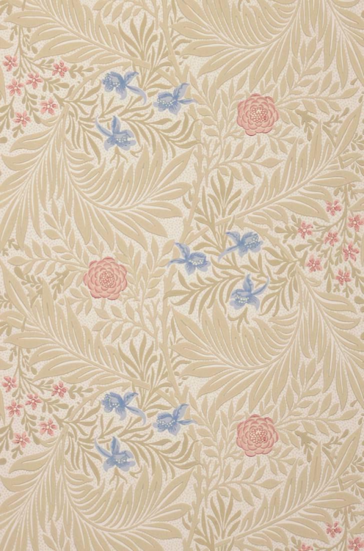 Tapete kari weiss beige beigerot brillantblau for Tapeten land
