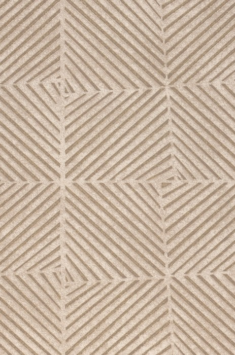 Wallpaper Maion Matt Geometrical elements Light grey Beige grey