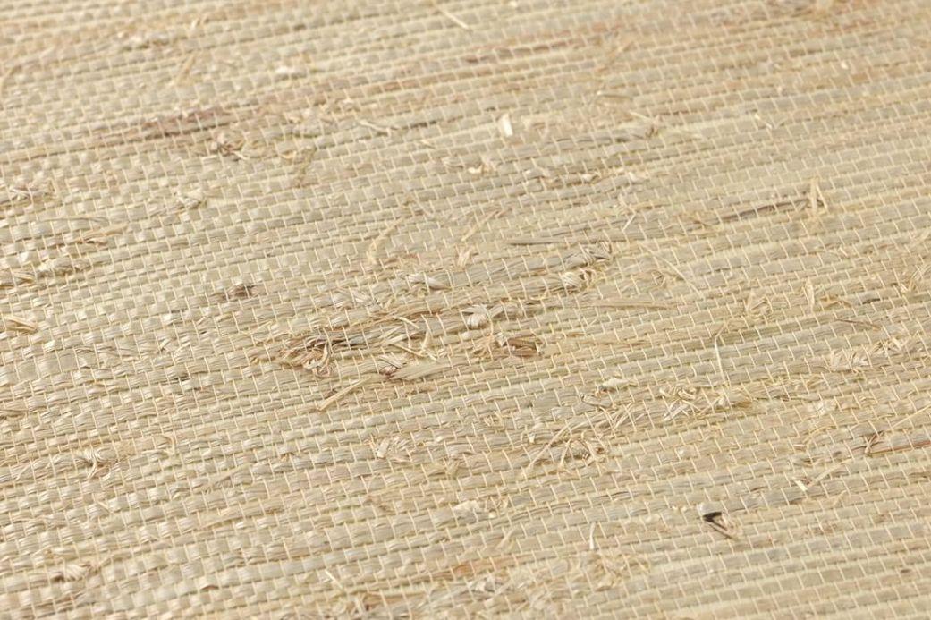 Archiv Tapete Grasscloth 06 Hellbeige Detailansicht