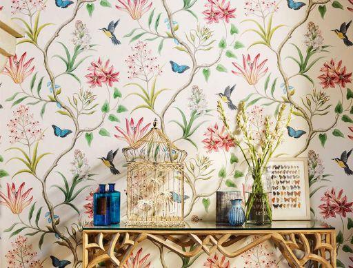 Papel pintado Pazia multicolor Ver habitación