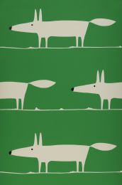 Papel de parede What does the Fox say verde