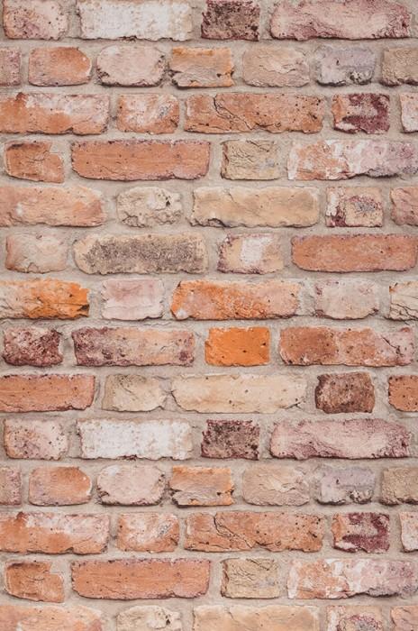 Wallpaper Castor Matt Bricks Beige Grey beige Grey brown Orange brown   Red brown