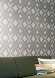Papel de parede Allegra cinza sedoso