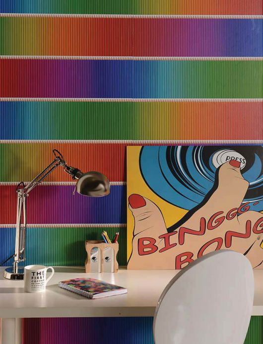 Archiv Wallpaper Berango multi-coloured Room View