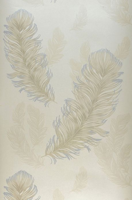 Archiv Wallpaper Feather Rain light beige Roll Width
