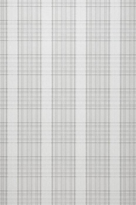Wallpaper Amira Matt Plaid Light grey Dark grey Grey White