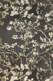 Wallpaper VanGogh Blossom umbra grey
