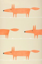Wallpaper What does the Fox say Matt Foxes Light grey beige Red orange White