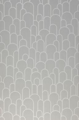 Wallpaper Fanti light grey Roll Width