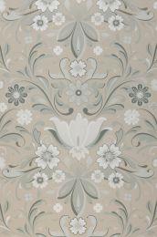 Papel pintado Sanna beige grisáceo claro