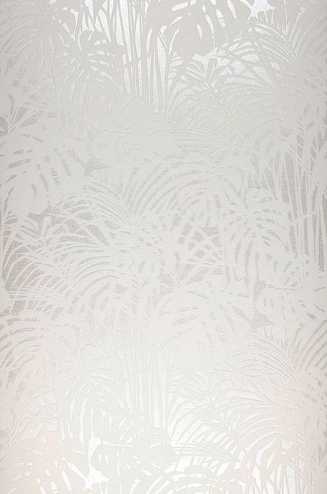 Papel de parede Papel de parede Persephone branco creme Largura do rolo