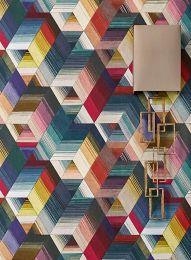 Papel de parede Nikita multicolorido