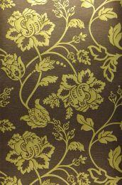 Papel de parede Ninkasi amarelo esverdeado metálico