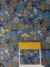 Papel de parede Tammi azul pérola