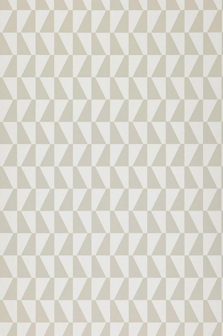 Papel pintado balder blanco gris beige claro papeles - Papel pintado de los 70 ...