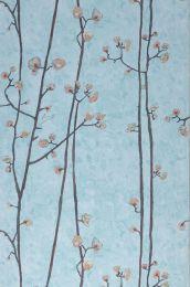 Wallpaper VanGogh Branches light pastel turquoise