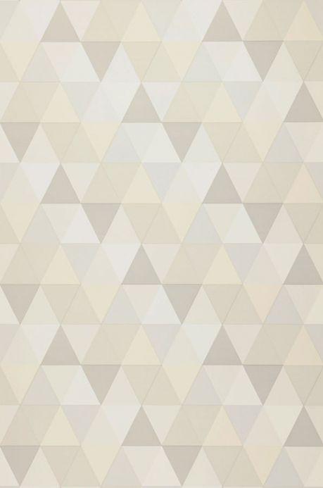 Geometric Wallpaper Wallpaper Tamesis cream Roll Width