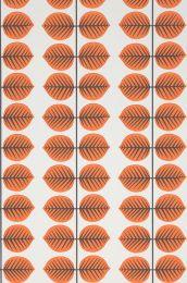 Wallpaper Leonarda orange