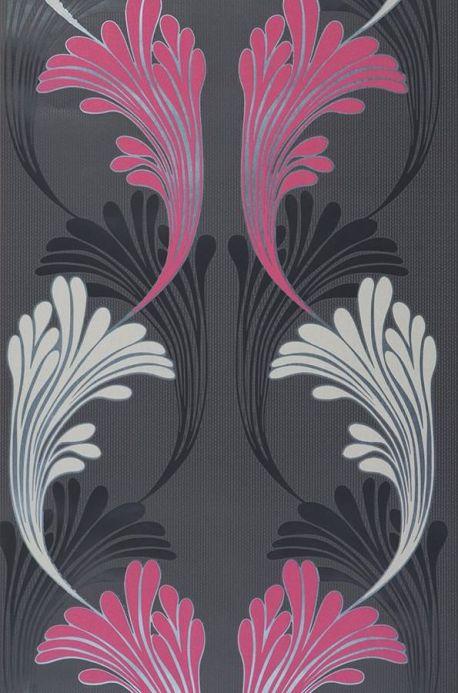 Archiv Papier peint Magni violet bruyère Largeur de lé
