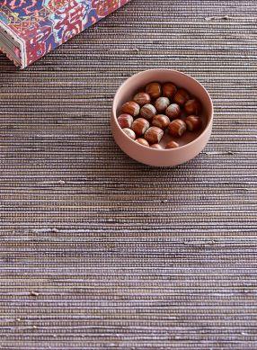 Papel de parede Grass on Roll 07 violeta acinzentado Raumansicht