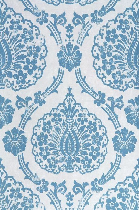 Archiv Papier peint Fidelia bleu Largeur de lé