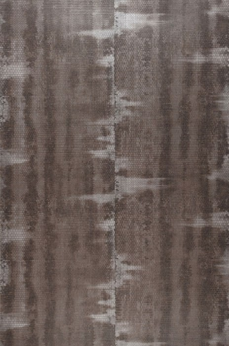 Wallpaper Fedon Shimmering Shabby chic Brown grey Grey Silver