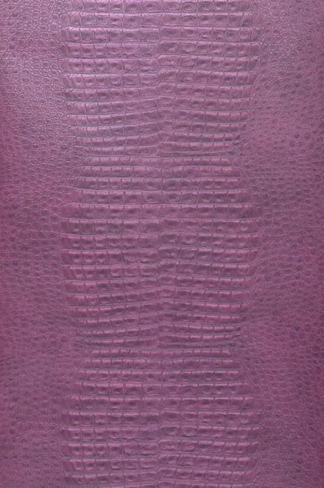 Papel de parede Gavial Mate Imitação de couro Violeta carmesim Violeta avermelhado