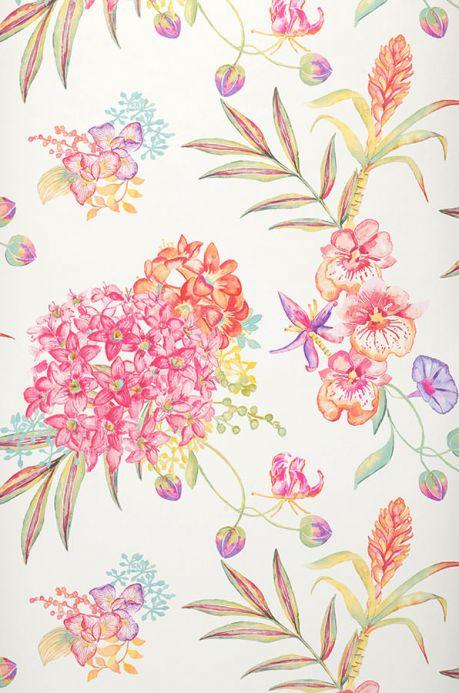 Archiv Papier peint Fenja rose vif Largeur de lé