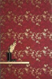 Wallpaper Minerva strawberry red