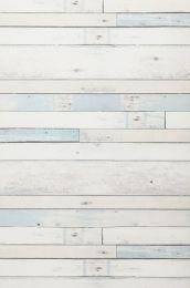 Wallpaper Shabby Planks pale blue