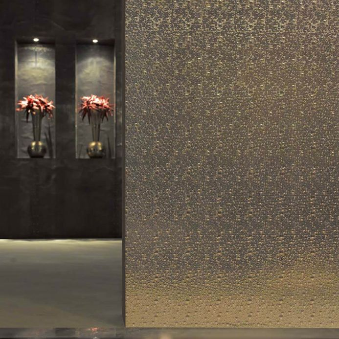 Metallic Wallpaper Wallpaper Nanna white gold lustre Room View