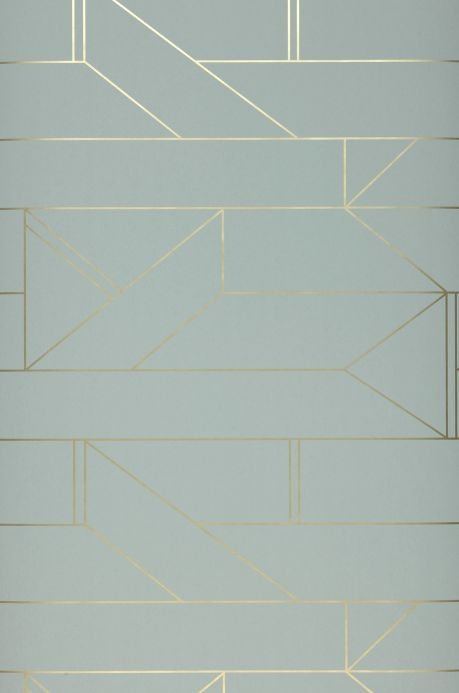 Geometric Wallpaper Wallpaper Elmi grey Roll Width