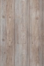 Wallpaper Beach Wood Matt Old wooden boards Pale blue Pale grey brown Grey brown