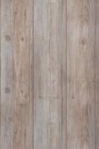 Wallpaper Beach Wood Matt Old wooden boards Pale blue Pale grey brown Grey brown