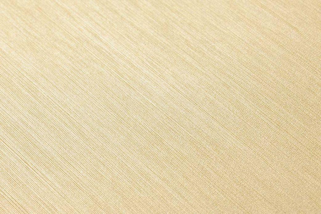 Carta da parati tessuto Carta da parati Warp Beauty 10 giallo pallido Visuale dettaglio