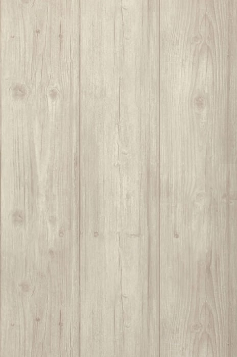 Wallpaper Beach Wood Matt Old wooden boards Pale beige grey Grey white