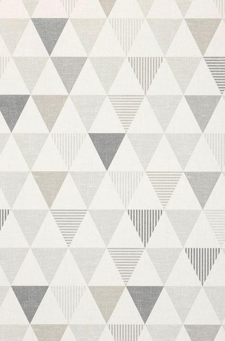 Archiv Papier peint Zenem tons de gris Détail A4