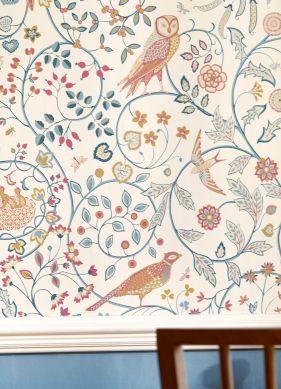 Wallpaper Jorinde cream Room View
