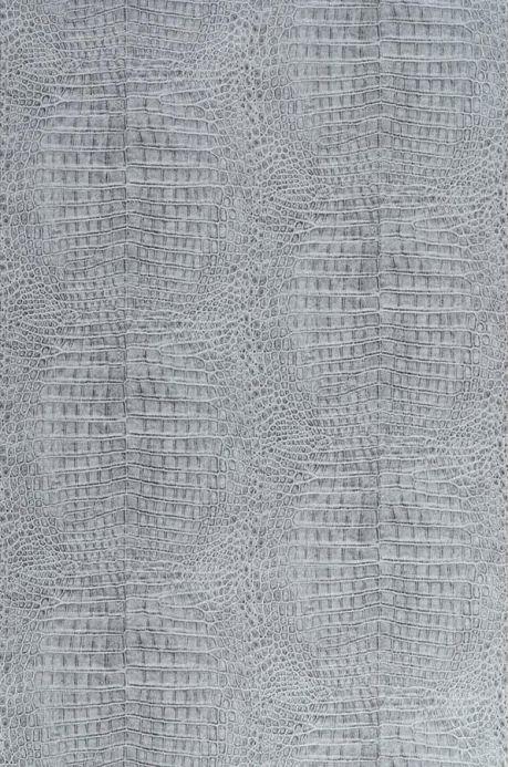 Archiv Papier peint Alligator gris clair  Largeur de lé