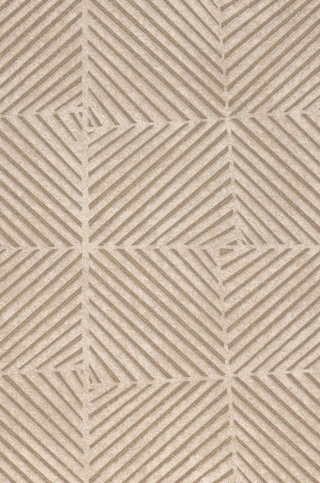 Wallpaper Wallpaper Maion beige grey A4 Detail