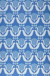 Papel de parede Zarina azul brilhante