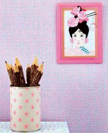 Wallpaper Mystic Weave 04 light violet