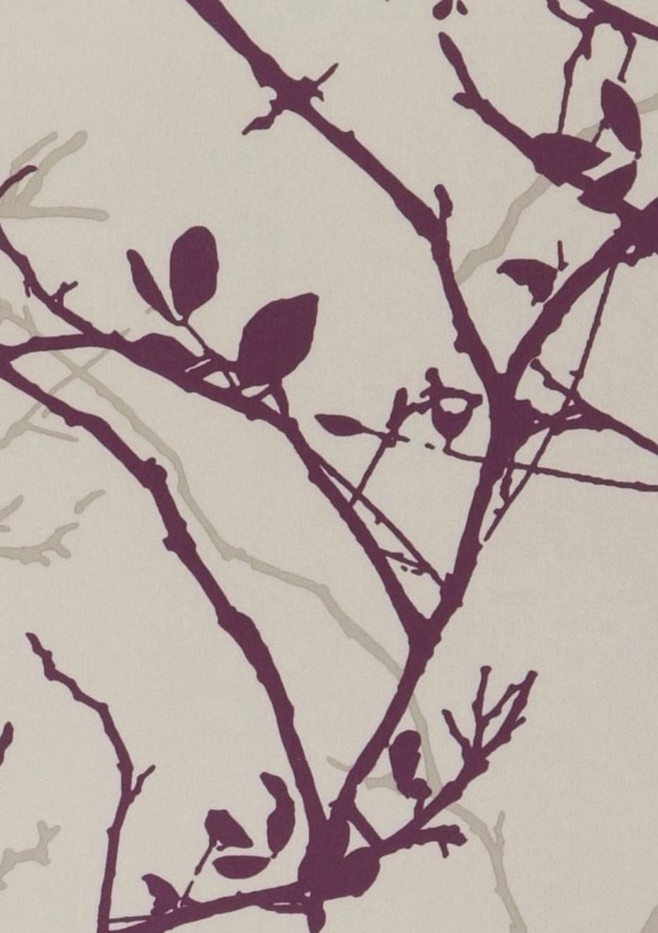 Epona beige gris nacr lustre brun p le violet fonc for Papier peint romantique