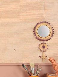 Papel de parede Jambhala rosa pálido
