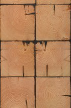 Wallpaper Scrapwood 09 Matt Shabby chic Imitation wood Orange brown   Sand Black brown