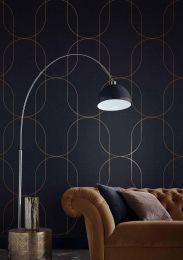 Wallpaper Palazzo grey blue