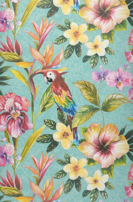 Archiv Wallpaper Gadotti mint turquoise Roll Width