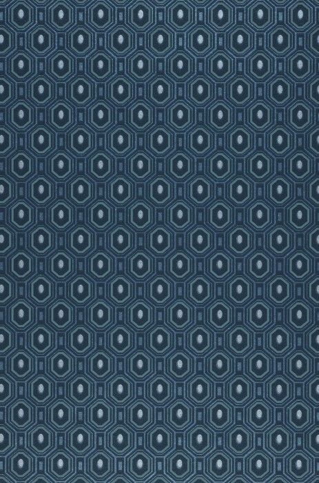 Wallpaper Arkadias Shimmering pattern Matt base surface Hexagons Dots Grey blue Pastel turquoise Pearl blue Silver shimmer