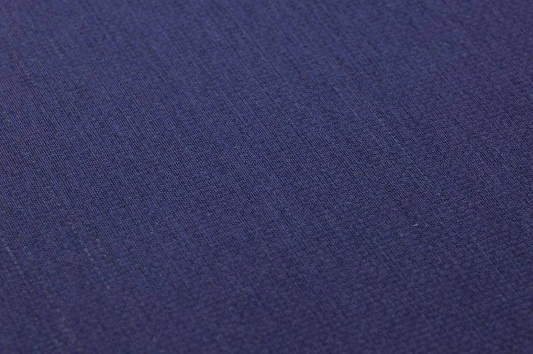 Wallpaper Textile Walls 04 Matt Solid colour Night blue