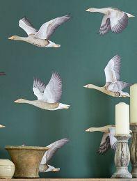 Wallpaper Chloe pine green